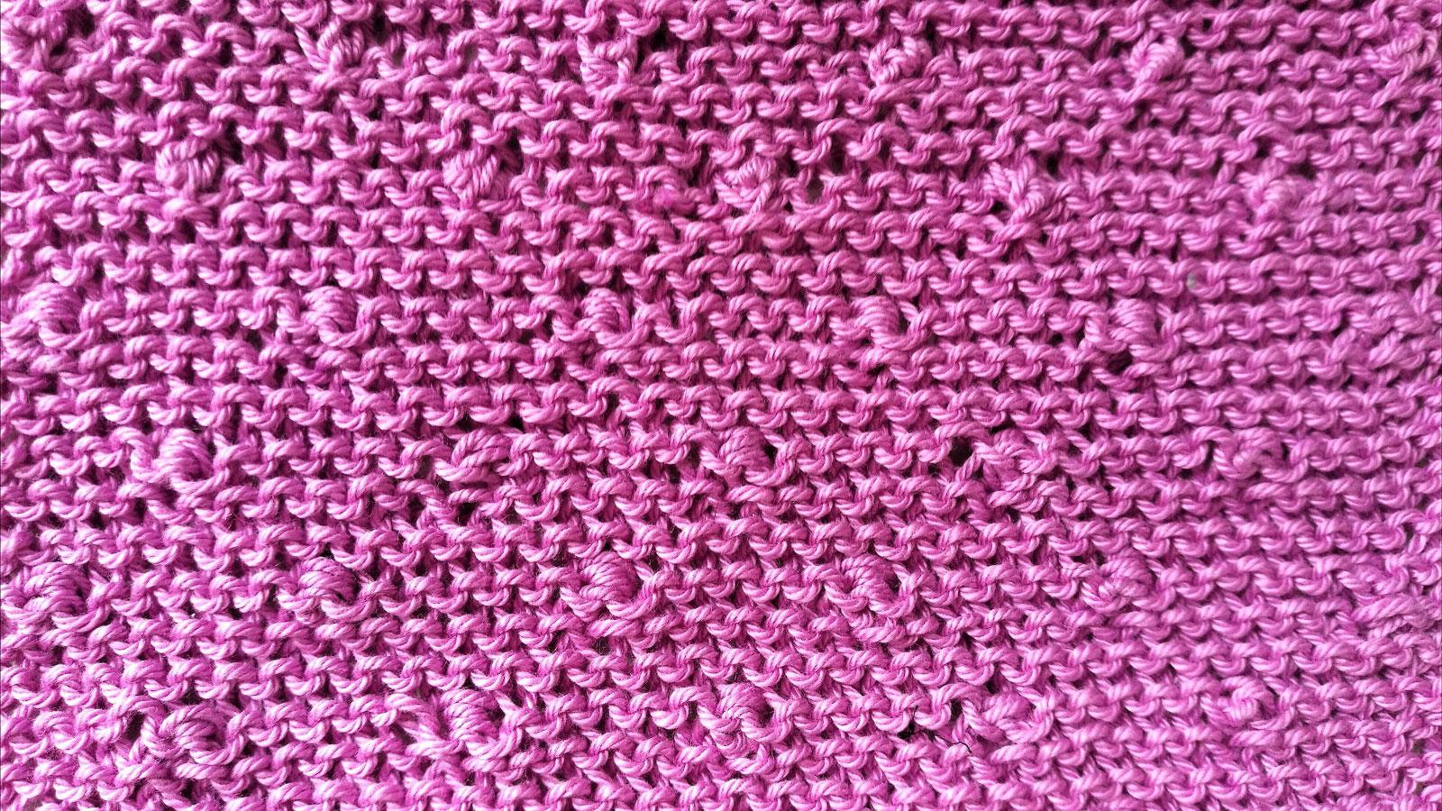 Stitcharium Popcorn Stitch